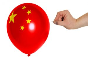 China balloon pop