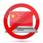 Blocked Internet business in China