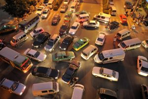 China traffic congestion