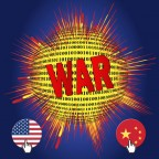 USA and China Cyberwar