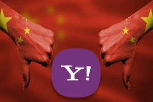 Yahoo fails in China