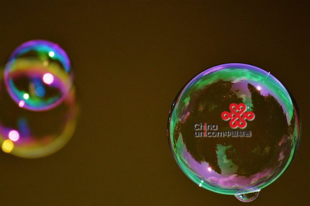 China Unicom bubble