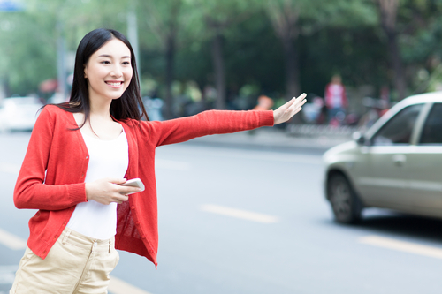 Chinese taxi-hailing apps