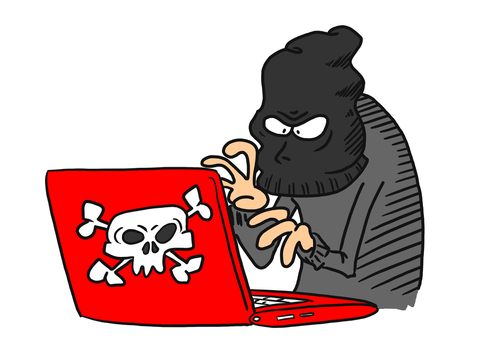 malware and hacker